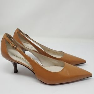 Cole Haan Tan Slip On Style #205306 Mules/Slides